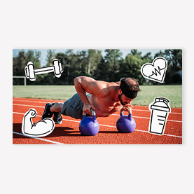PicMonkey outdoor workout YouTube template