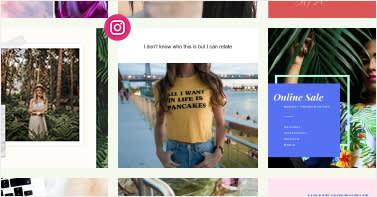 Utilisez les outils de création de collages de PicMonkey pour créer des publications de collage Instagram.