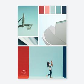 Modèle de palette de couleurs de marque PicMonkey