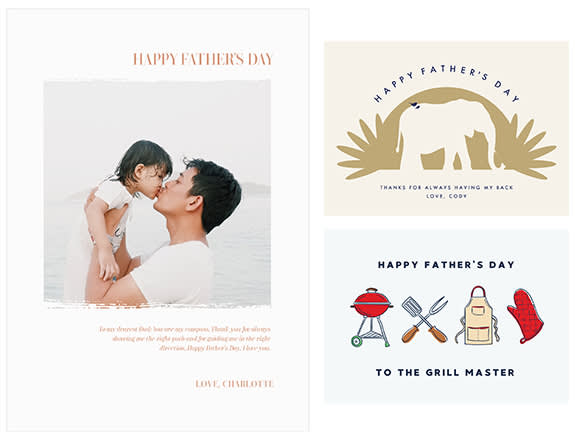 Create custom Father's Day eCards at PicMonkey