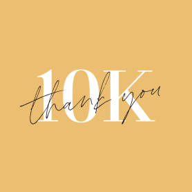 10k Thank You ad template