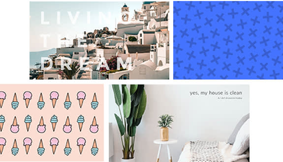 use picmonkey's background maker to create aesthetic backgrounds for your devices