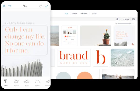 Social template design
