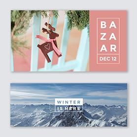 Holiday design templates