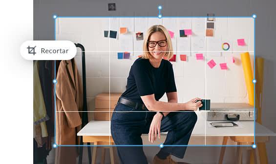 herramientas de edición de fotos en línea para ajustar el tamaño, la exposición, el fondo, los colores y el retoque