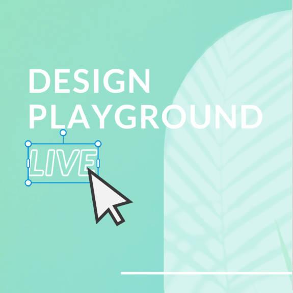 Deign Playground clicking image