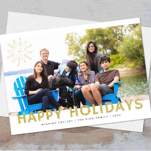 how to edit photos and create a family christmas card