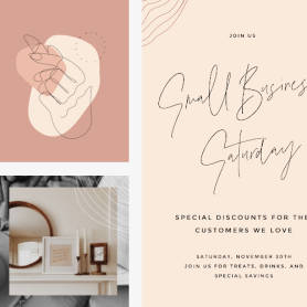 Line and dGroove natural template set