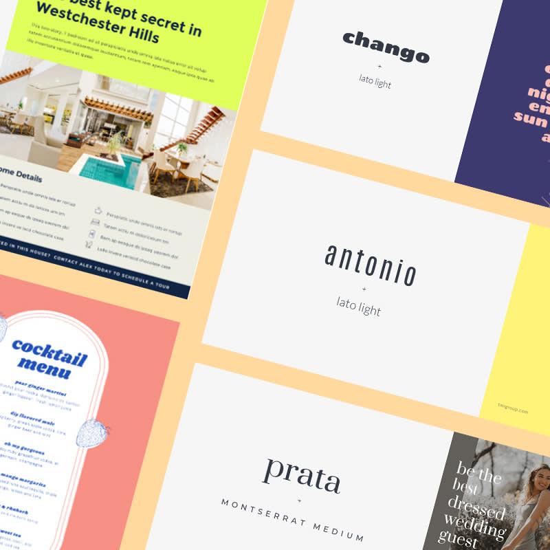 30 font pairings for beautiful designs
