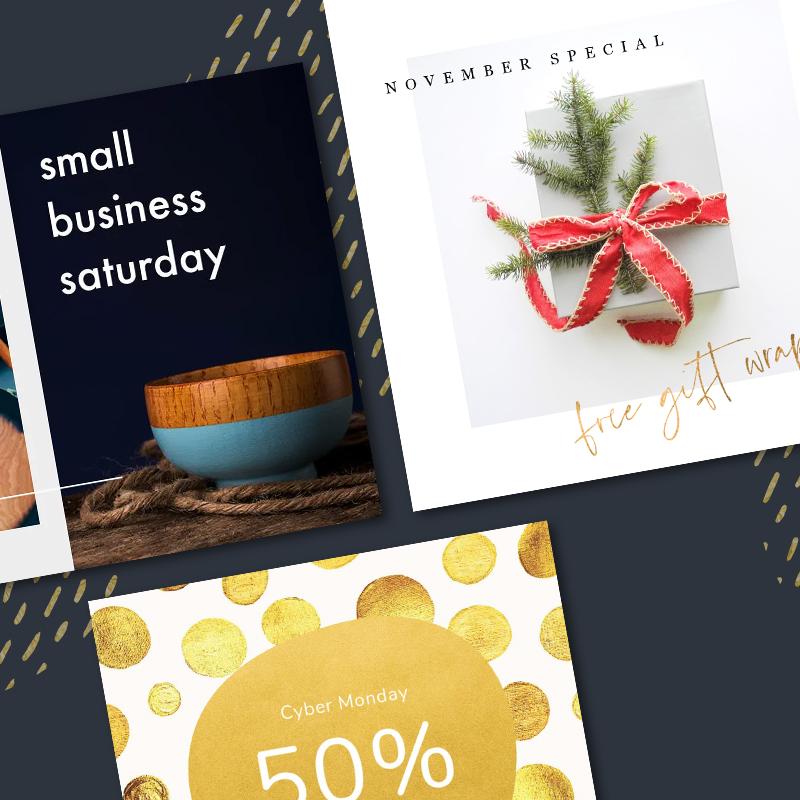 social media marketing marketing design for holidays small business