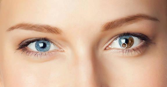 Eye color changer at PicMonkey