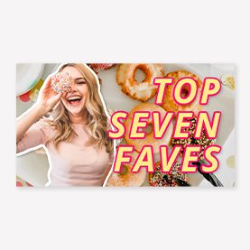 PicMonkey top seven faves YouTube template