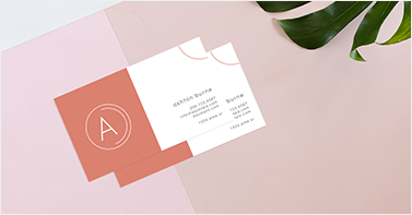 Learn how to make your own business cards