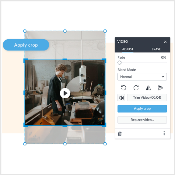 add video to your designs in PicMonkey