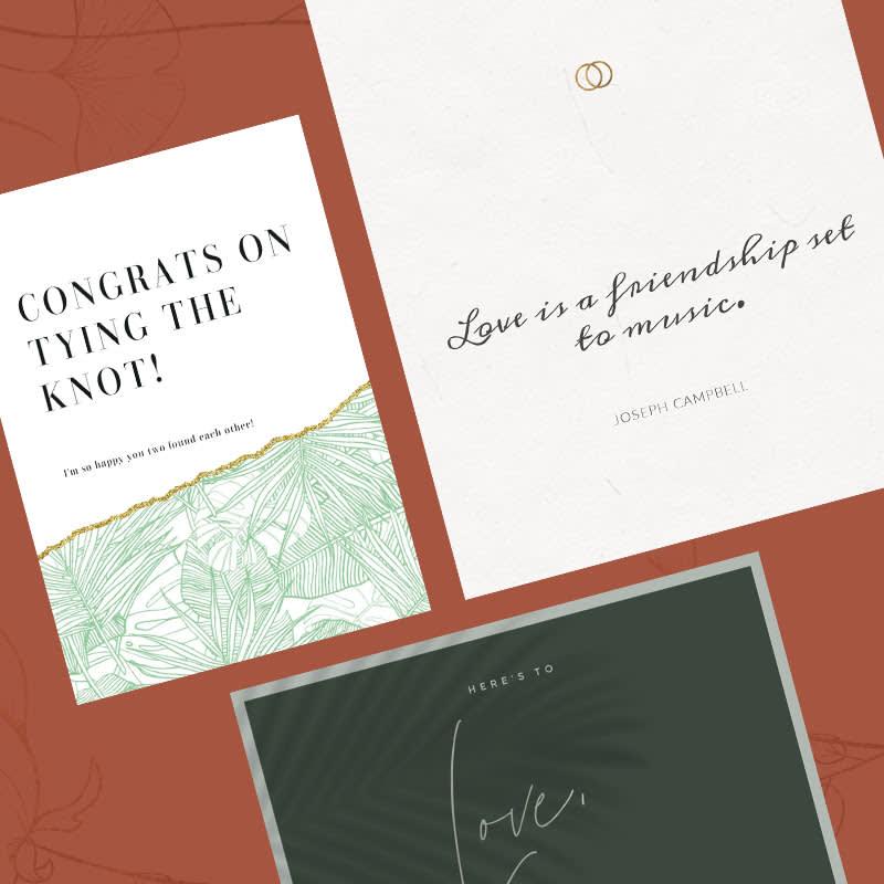 Wedding Congratulations Messages templates