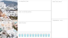 Daily photo calendar creator template at PicMonkey