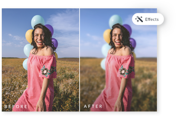 blur image before and after made with blur image photo editing tools