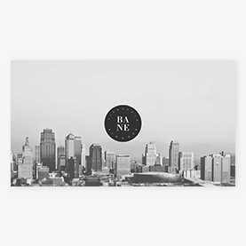 PicMonkey logo-focused YouTube channel art design template