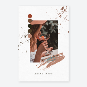 PicMonkey vision board template for brand inspiration