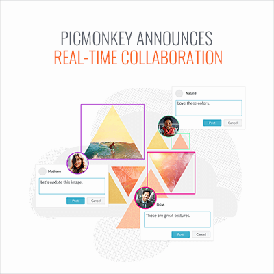 PicMonkey Announces Real-time Collaboration