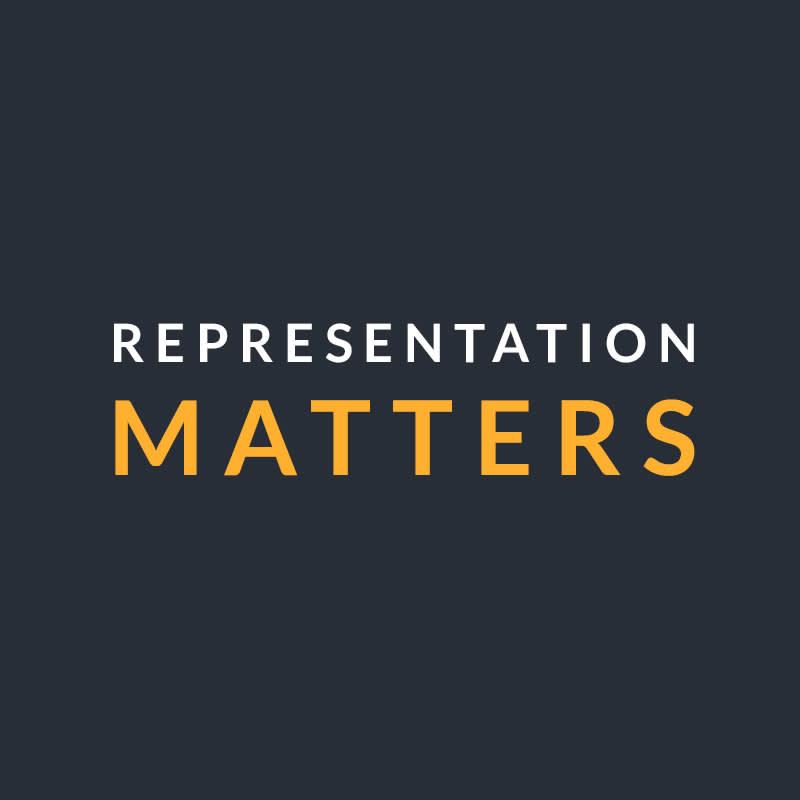 Racial representation in graphic design
