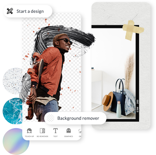 application de conception graphique d'application mobile picmonkey