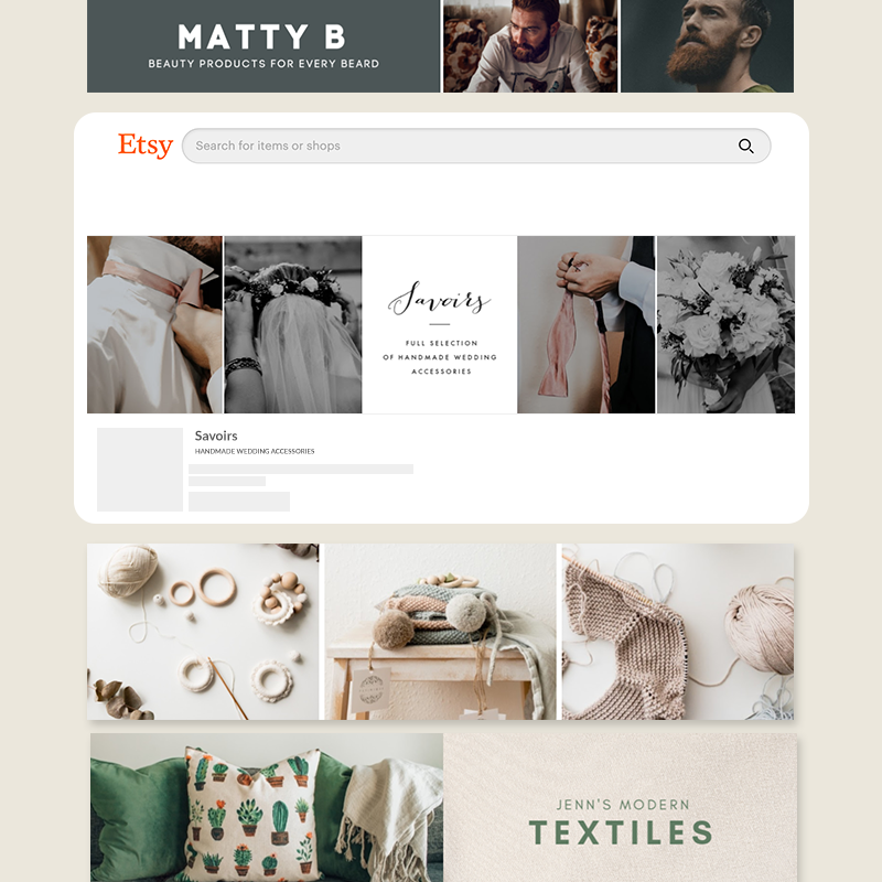 Make etsy banners from beautiful templates at picmonkey