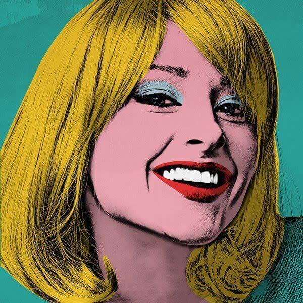 Efecto Warhol para un look pop art.