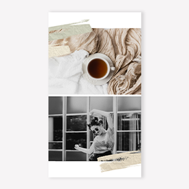 Veronica collage instagram story template
