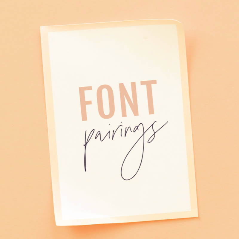 how to put different fonts together a guide to font pairing